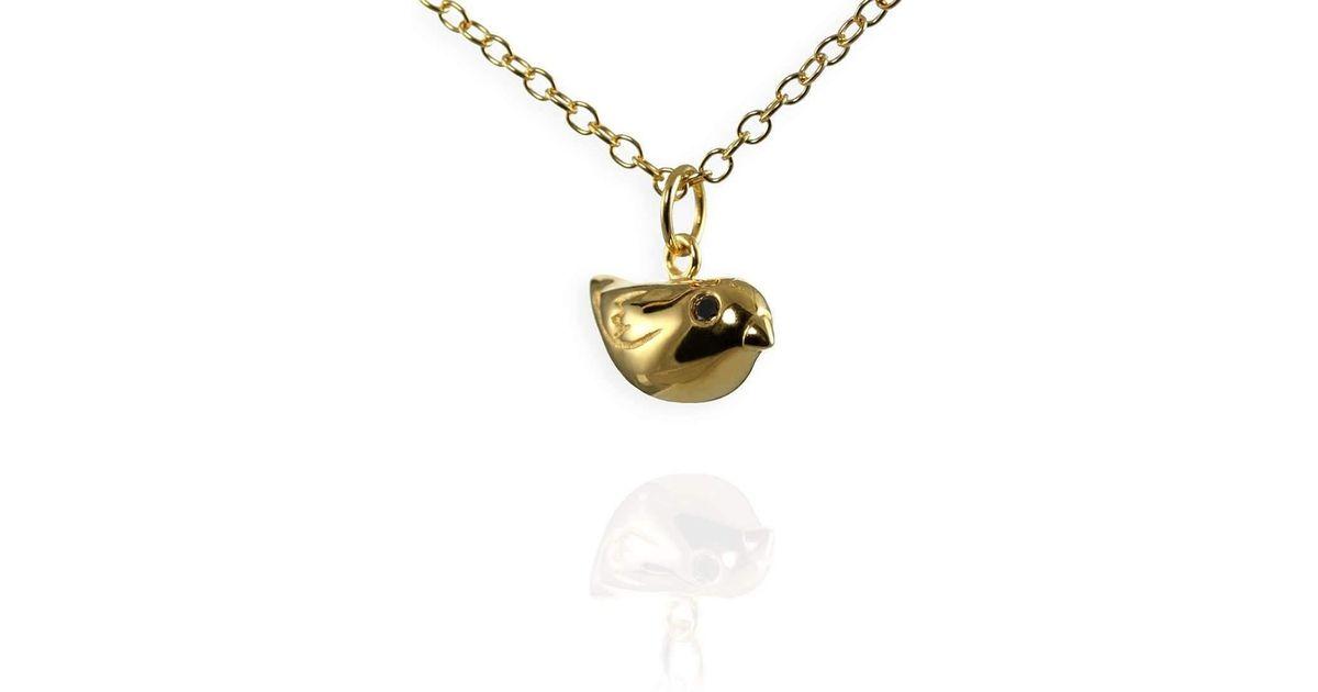 Jana Reinhardt Gold Plated Silver Sparrow Necklace - 42cm (16) vJZrl86l