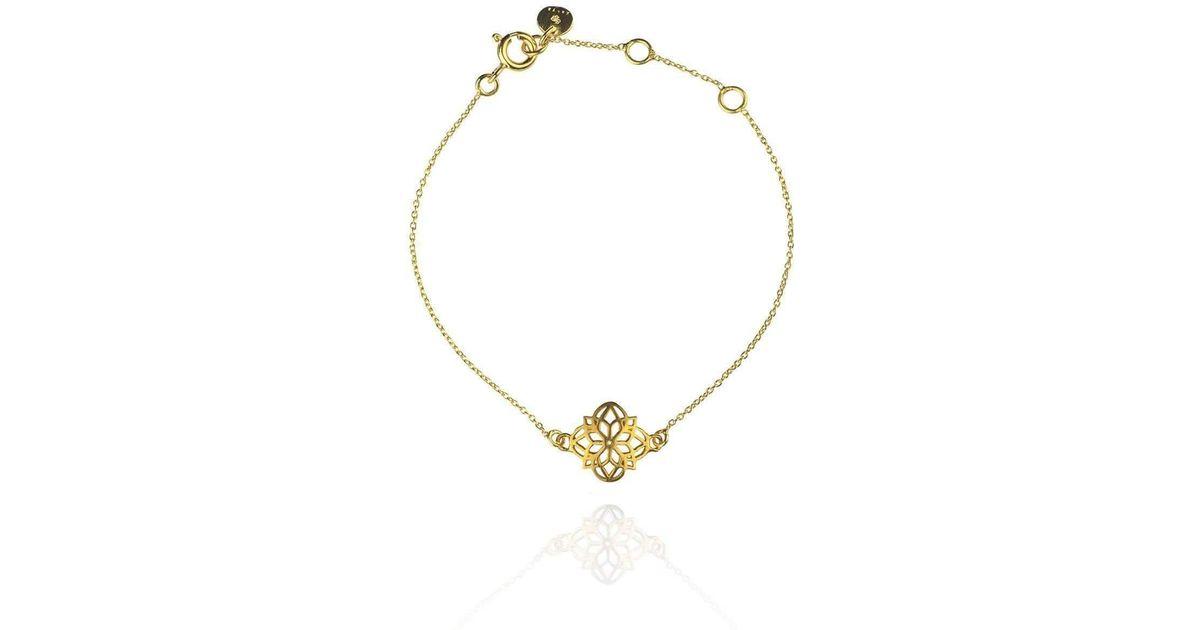 Zefyr Mandala Necklace Gold QG520mMzIU