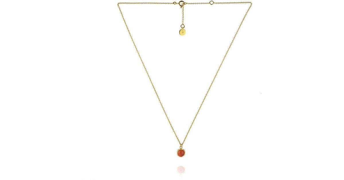 Zefyr Dosha Necklace Gold With Turquoise X8Kjmp4Aw