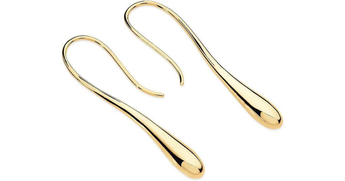 Lucy Quartermaine Long Drop Stud Earrings bvcthy