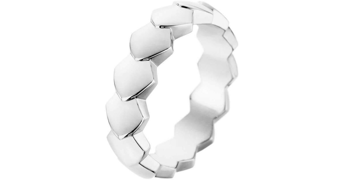 Akillis Bang Bang Toi and Moi White Gold Black Diamond Set Ring - UK L 1/4 - US 5 3/4 - EU 52 Q7gmvWP