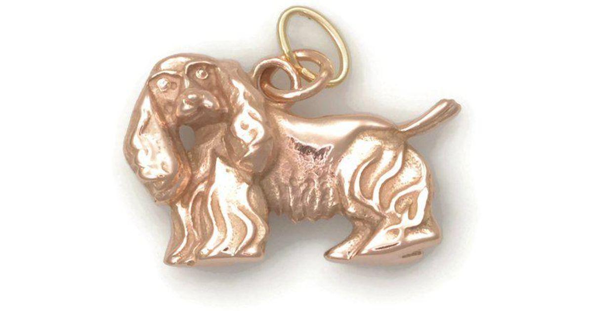 Donna Pizarro Designs 14kt Rose Gold Cocker Spaniel Charm HcjO5yxl