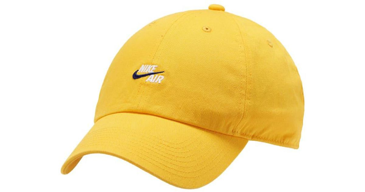 7439f3d2dc9 ... new zealand lyst nike two tone air h86 cap in yellow for men aa6cb 6efec