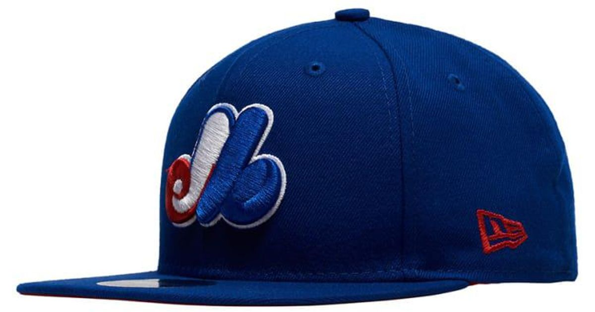 online store a6d55 ef503 Lyst - KTZ Montreal Expos 9fifty Hat in Blue for Men
