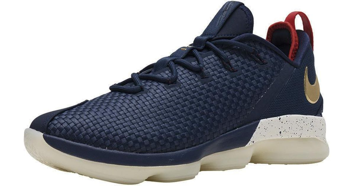 09005ba26ec2f Lyst - Nike Lebron 14 Low in Blue for Men - Save 50%
