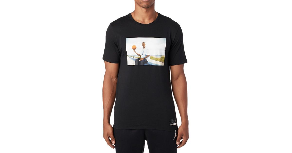 new product 75b4f 2e7c0 Nike Jsw He Got Game Jesus Ss Tee in Black for Men - Lyst