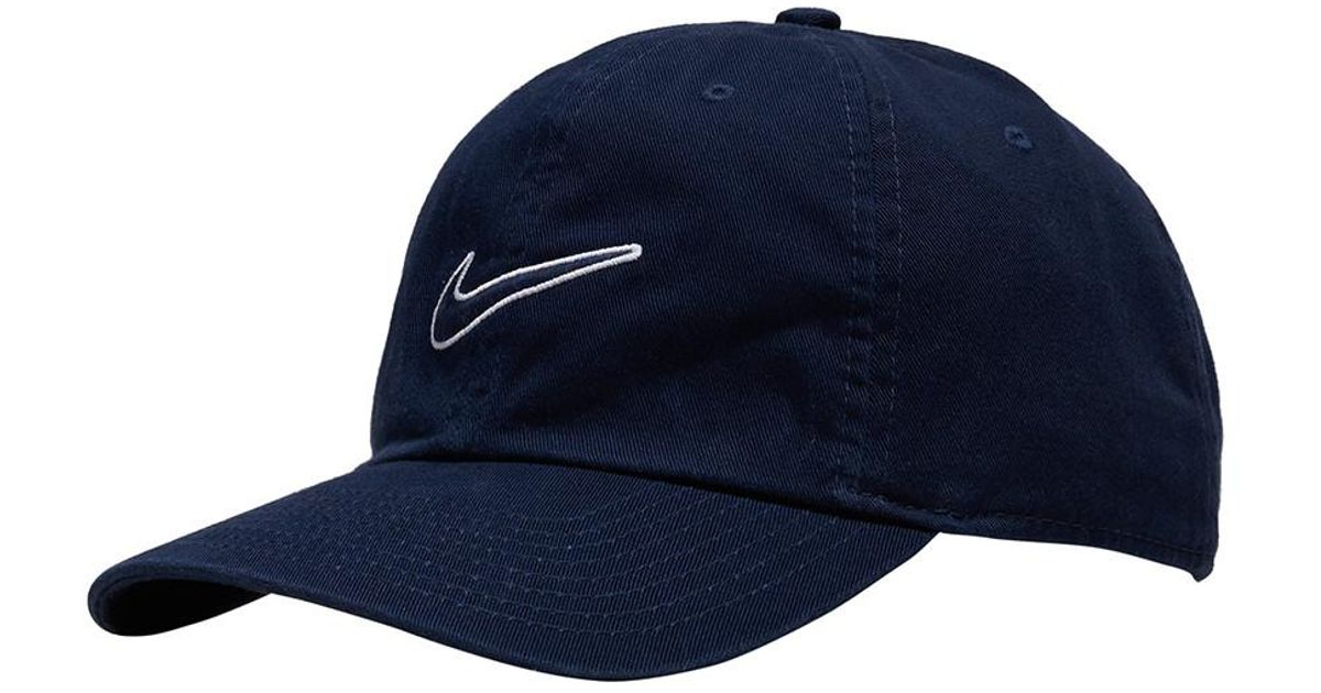 Lyst - Nike Essentials Heritage Dad Hat in Blue for Men d64cbf9257c