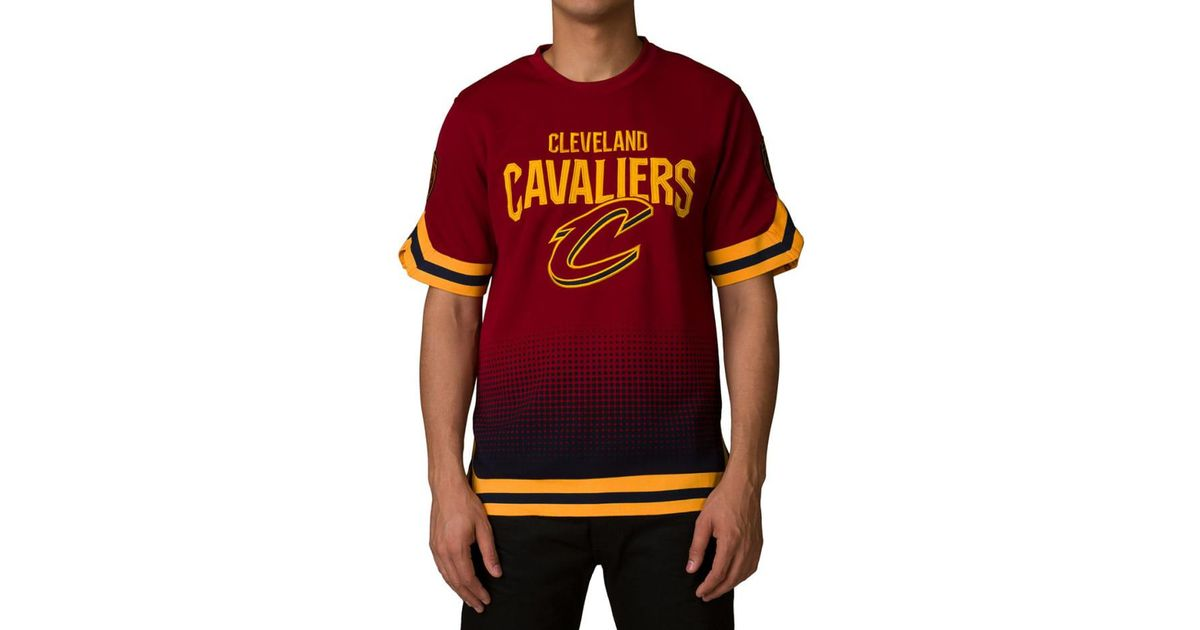 best sneakers f6a5c 1b7a3 Unk - Red Cleveland Cavaliers Digital Grade Tee for Men - Lyst