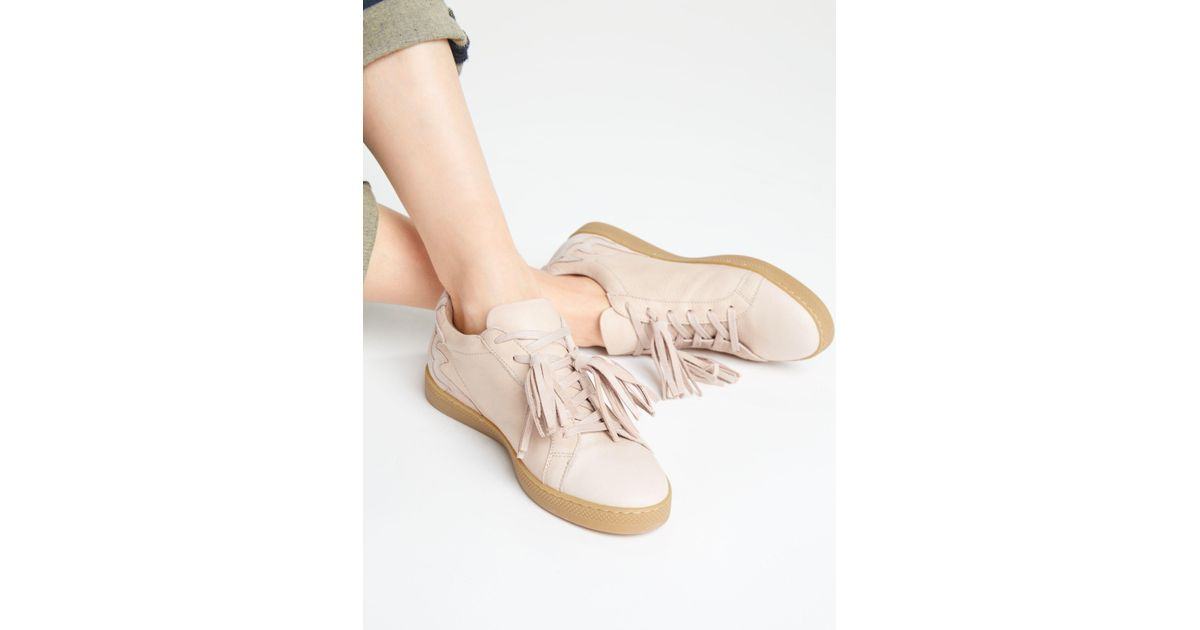 a1fb65d3c664 John Lewis And or Eloisa Tassel Trainers in Pink - Lyst