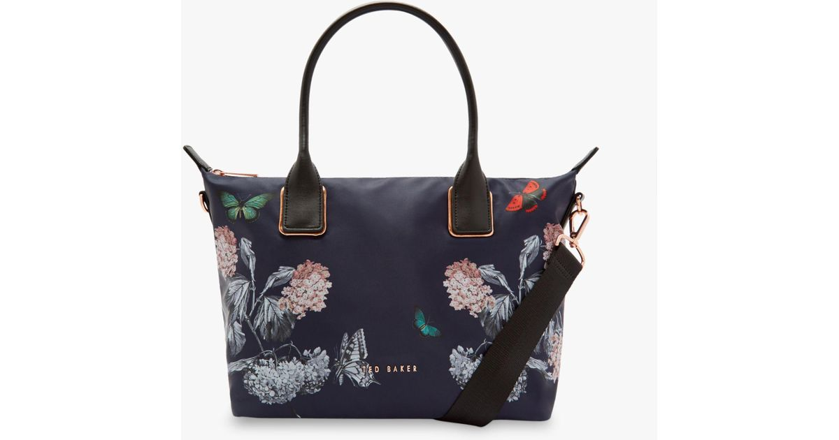 9a407597d6 Ted Baker Marucha Small Tote Bag in Blue - Lyst