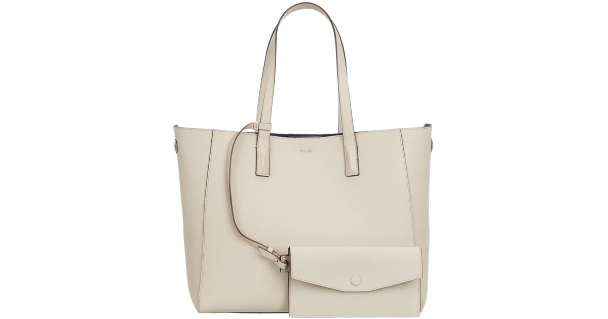 497295f6217 Dkny Bryant Park Saffiano Leather Tote Bag - Lyst