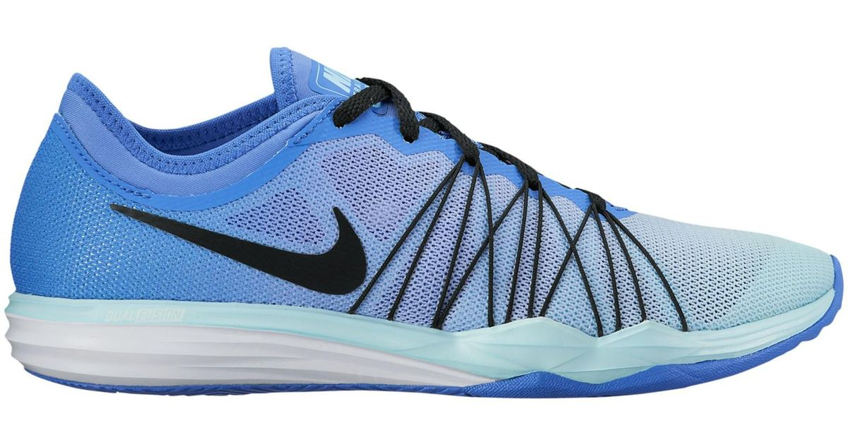 891c99df7801 Nike Dual Fusion Tr Hit Women s Cross Trainers in Blue - Lyst