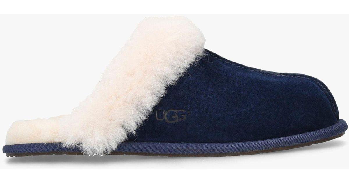 67570c47244f Ugg Scuffette Ii Sheepskin Slippers in Blue - Lyst
