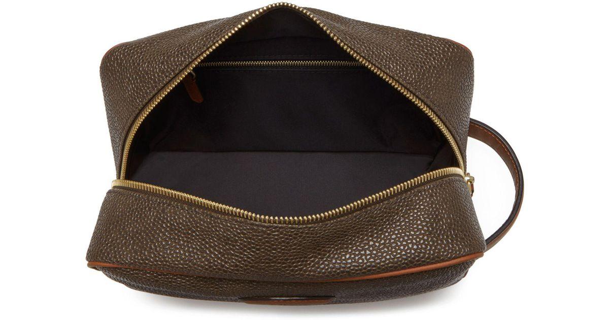 933d314ea663 ... denmark john lewis mulberry scotchgrain leather washbag in black for men  lyst b820f 2fa92