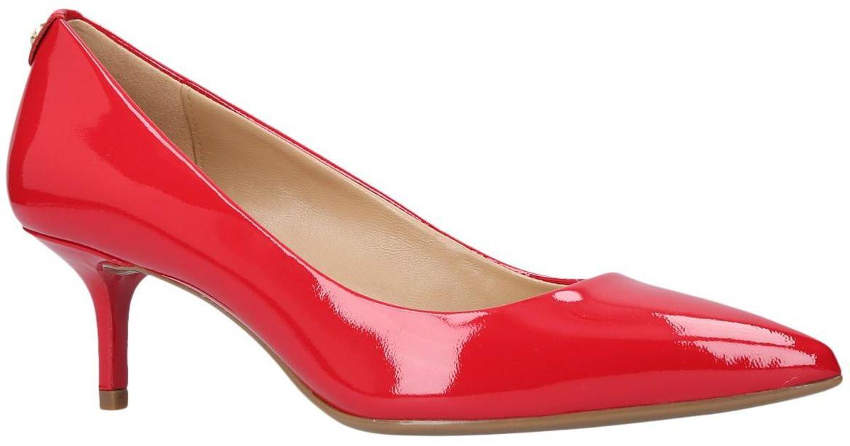 e9703176d2e MICHAEL Michael Kors Red Flex Pump Kitten Heel Court Shoes