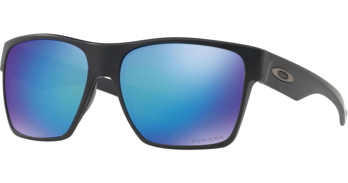 42367bc2713 Oakley Oo9350 Two Face Xl Prizm Polarised Square Sunglasses in Black for Men  - Lyst