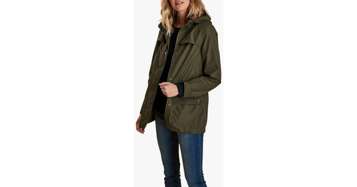 8c49861e5a422 Barbour Drizzle Waterproof Jacket in Green - Lyst