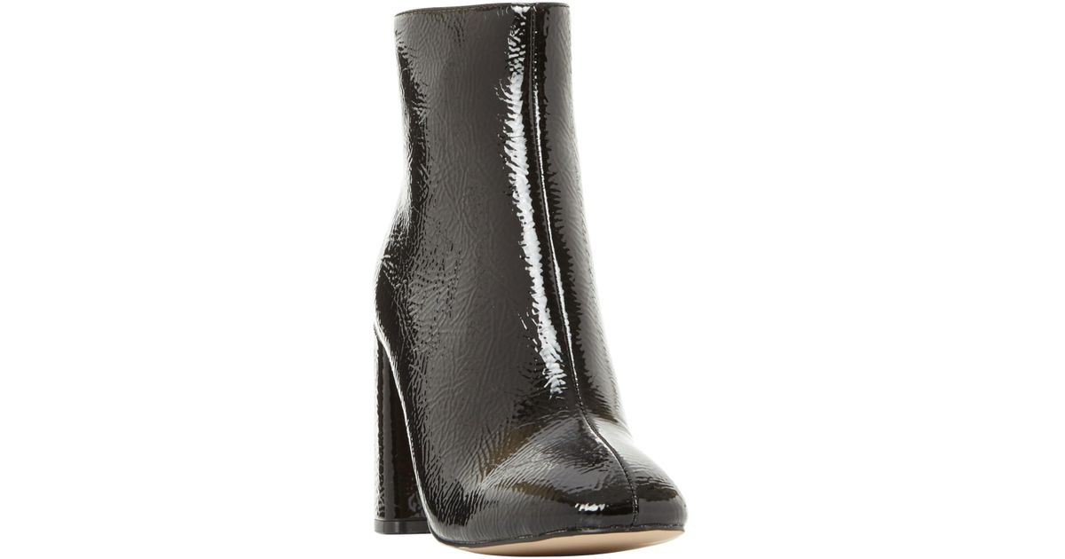 daccfd67eef Steve Madden Posed Block Heeled Ankle Boots in Black - Lyst