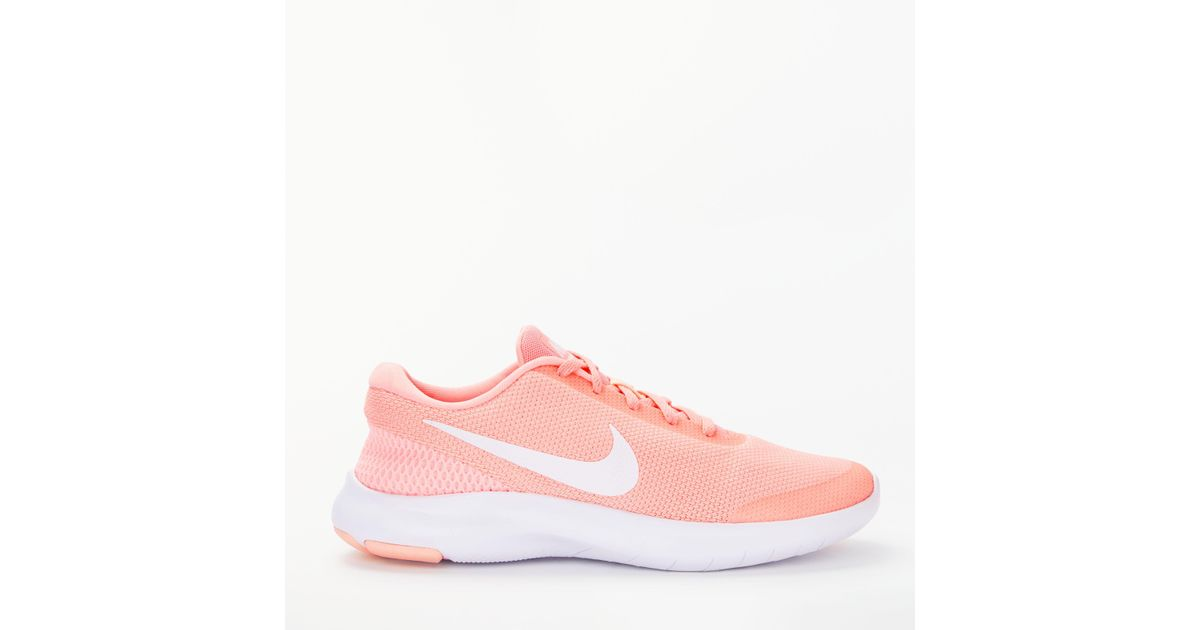 864a345b5053 Nike Flex Experience Rn 7 Women s Running Shoes in Pink - Lyst