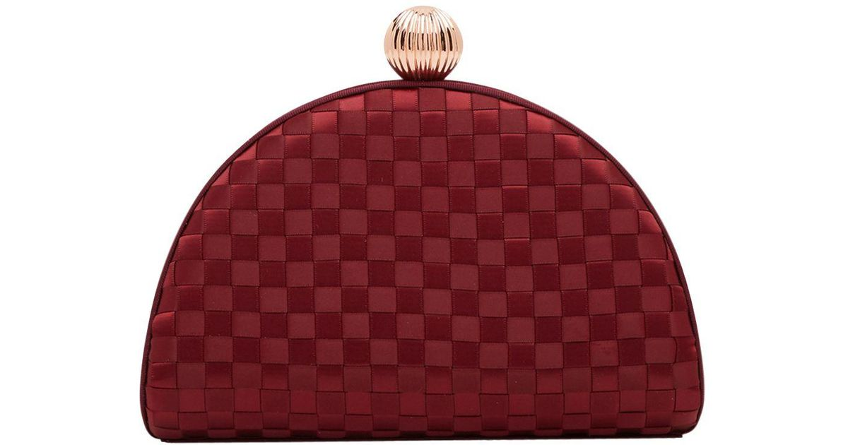 ca0c95ff9b31 Ted Baker Tie The Knot Kyla Bobble Clutch Bag - Lyst