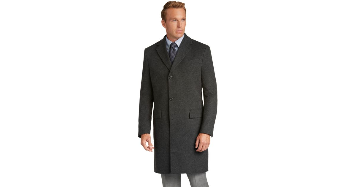 5134a59c3b2 Lyst - Jos. A. Bank Reserve Collection Slim Fit Cashmere Topcoat in ...