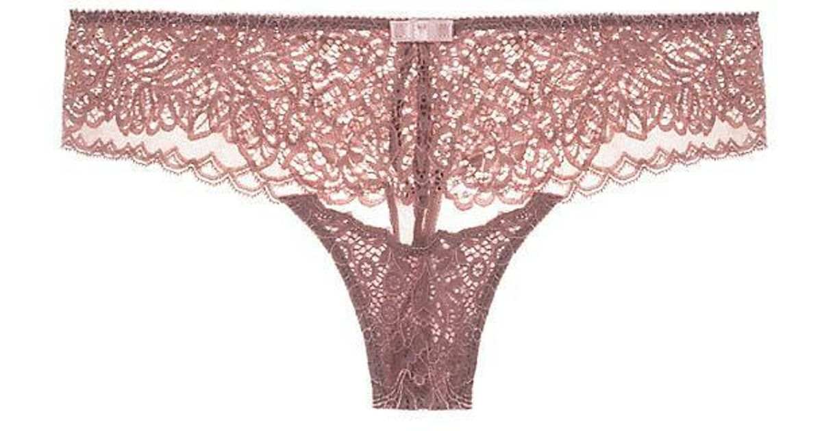 bb06c6e3dc85 Triumph Amourette Spotlight Hipster String in Pink - Lyst
