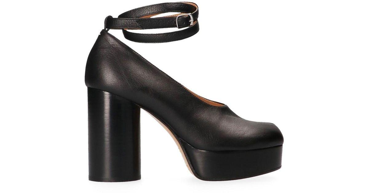 3e83ec25460d Lyst - Maison Margiela  tabi  Pumps in Black - Save 10%