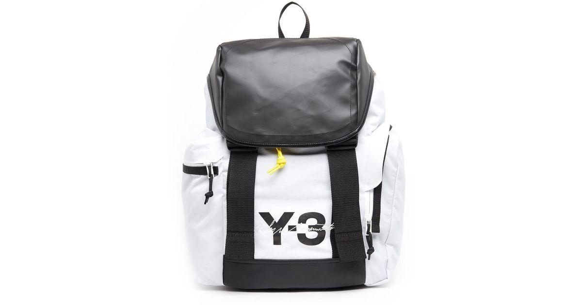 9811f626478b Lyst - Y-3 Mobility Color-block Backpack in Black for Men