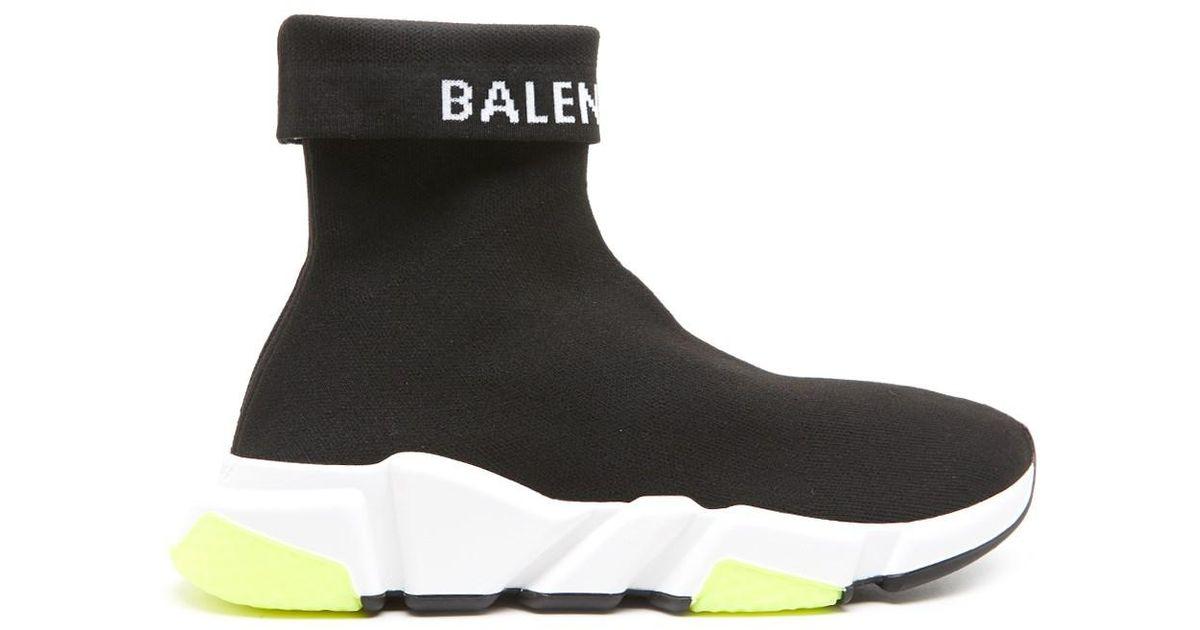 7b4407d84e32 Lyst - Balenciaga Speed High-top Sneakers in Black - Save 28%
