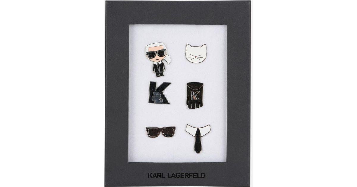 Karl Ikonik brooches - Multicolour Karl Lagerfeld OnJ0qMLUBy