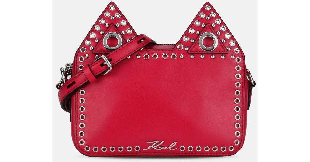 K/Rocky Choupette camera bag - Pink & Purple Karl Lagerfeld ZgxVCI