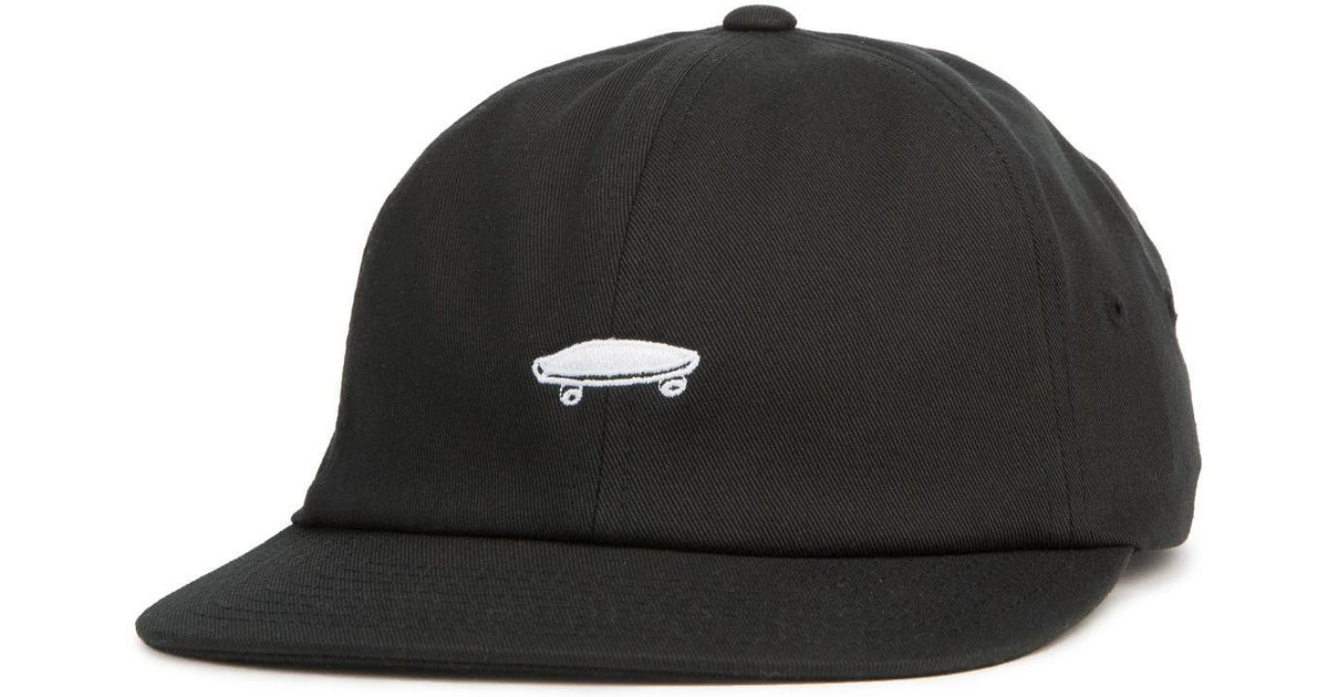 03941fd987d Lyst - Vans The Salton Ll Dad Hat In Black And White in Black for Men