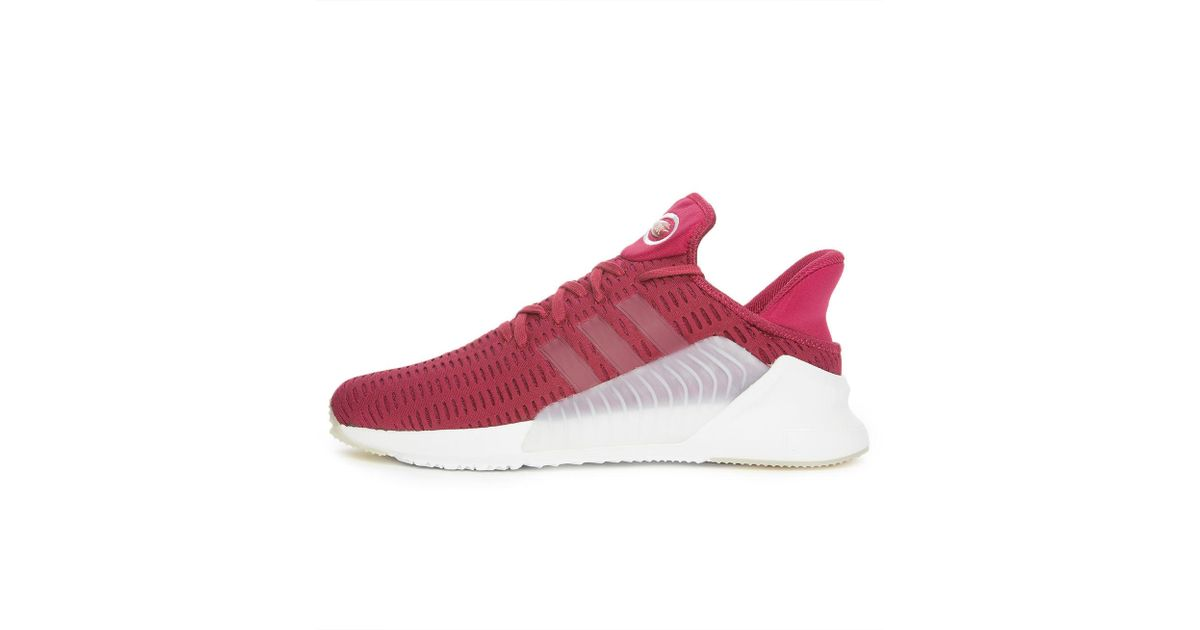 info for 0d115 0a3ec Lyst - adidas The Climacool 02 17 In Mystery Ruby And Footwear White in Red  for Men