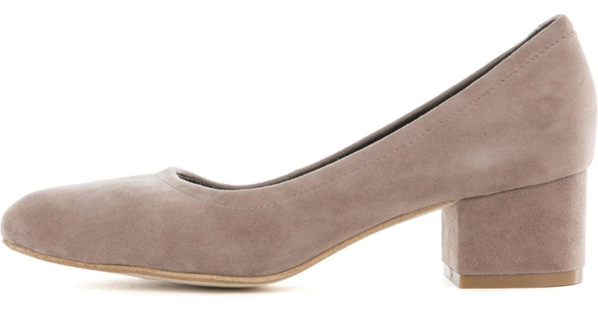 36f98fb88ecb Lyst - Jeffrey Campbell For Women  Bitsie Taupe Heels in Brown