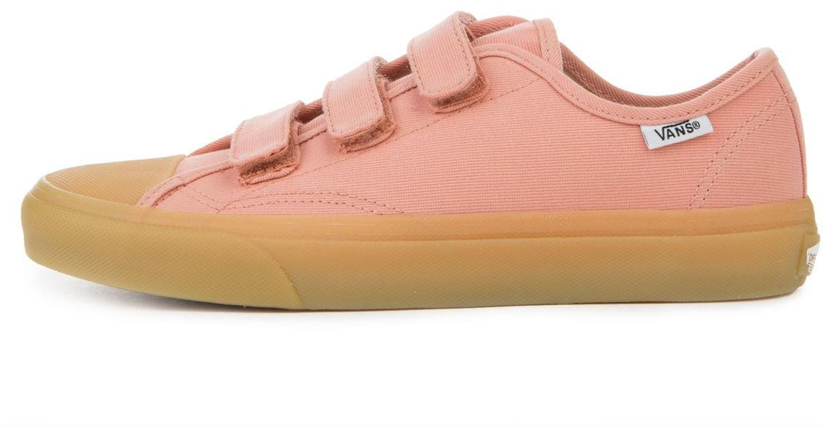 e5be35e052 Lyst - Vans The Women s Style 23 V In Muted Clay And Gum in Pink