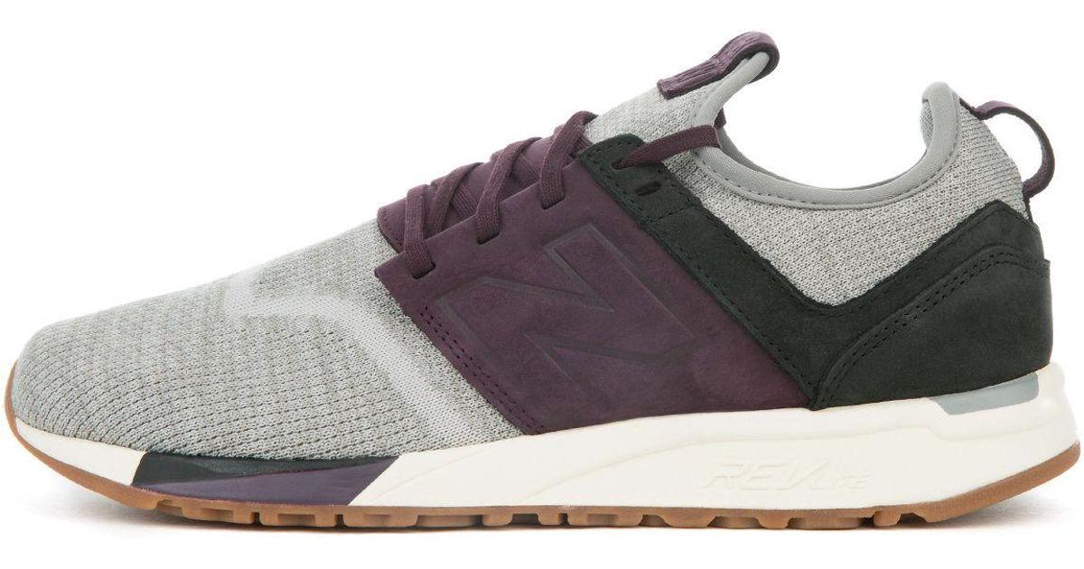 new balance 247 grey purple