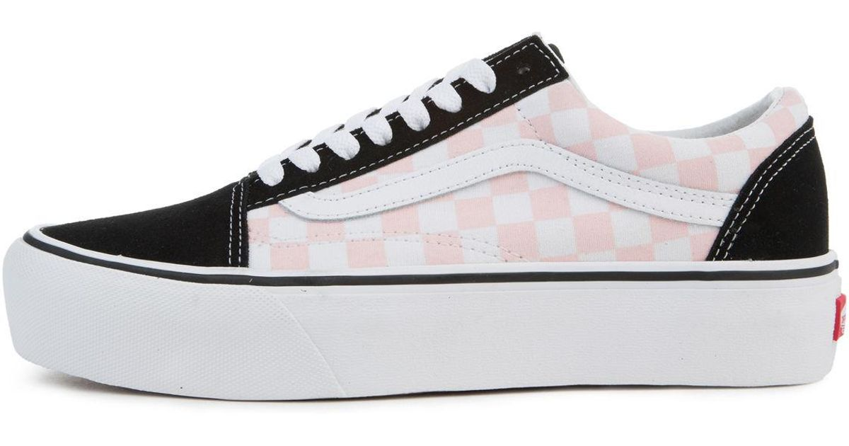 damen vans old skool pink