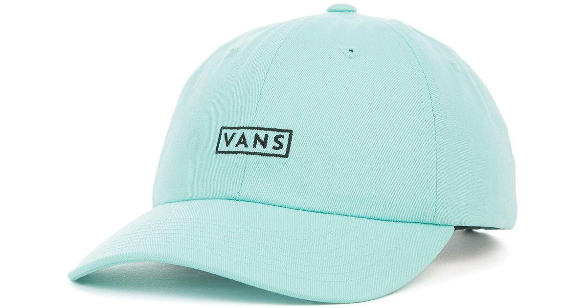 Lyst - Vans The Curved Bill Jockey Dad Cap in Blue for Men b8dc5076e1b