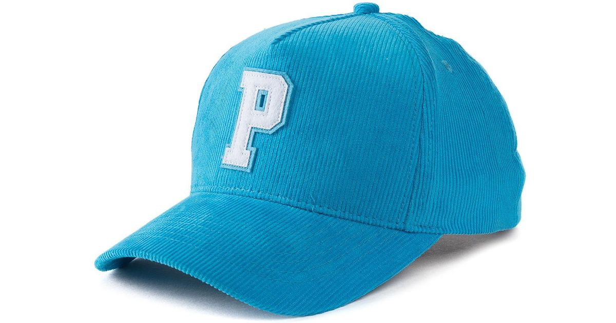 f75560e2e0ca7 ... top quality lyst pink dolphin the pastel p corduroy snapback in blue  for men ee742 a2216