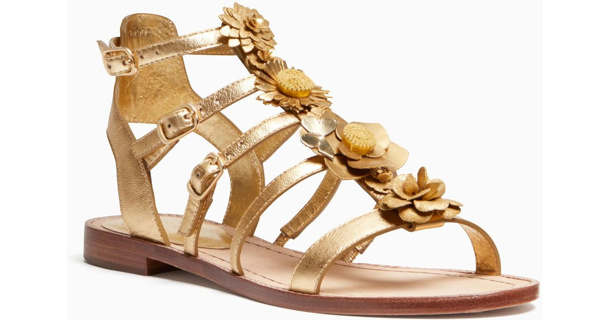 Sadia Floral Embellished Sandals