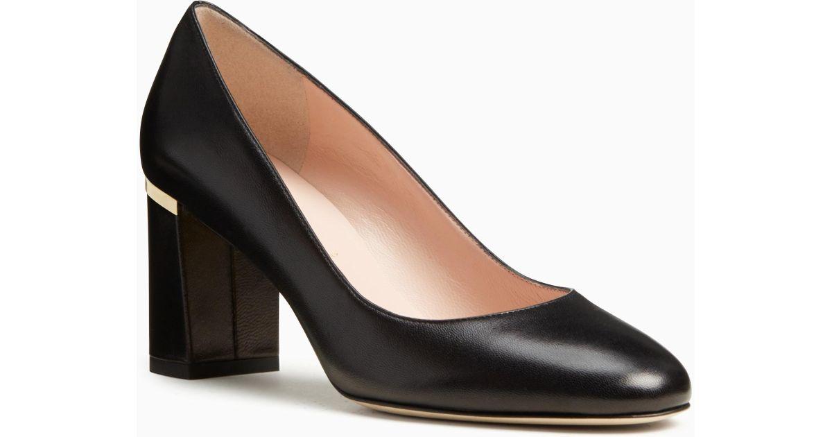 d360e96f03f7 Lyst - Kate Spade Alamar Heels in Black