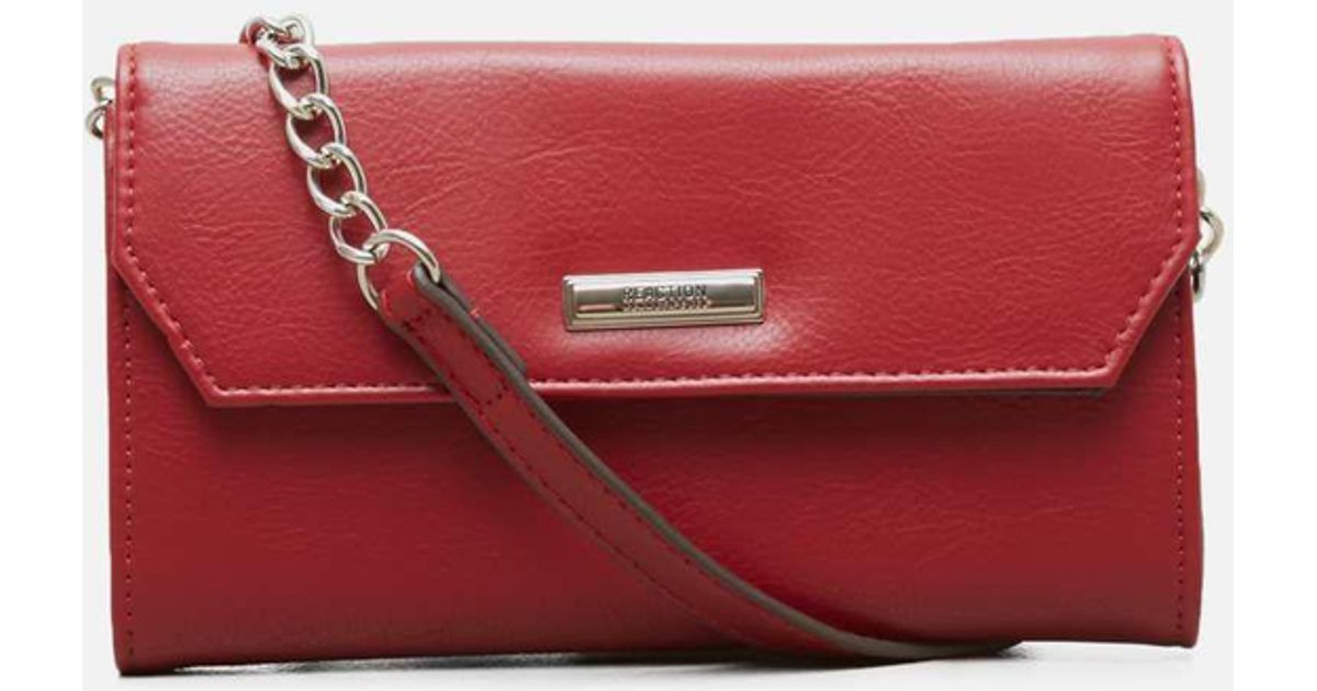 995b38783 Kenneth Cole Reaction Liza Cross-body Bag in Red - Lyst