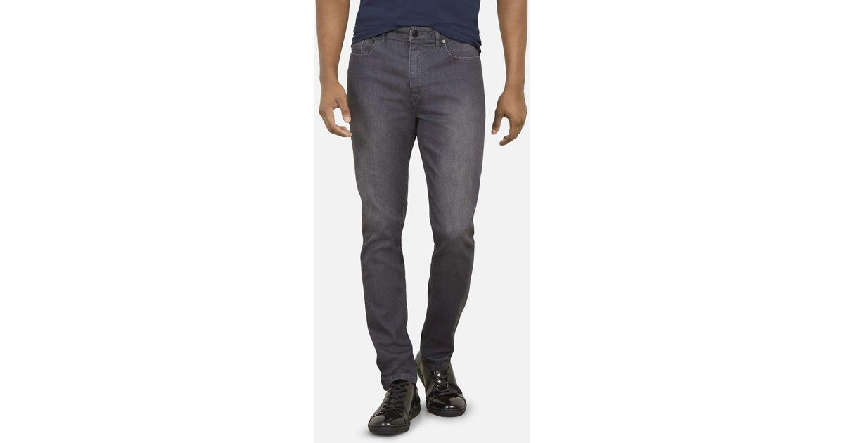 73343537ad Kenneth Cole Slim Stretch Flex Jeans in Gray for Men - Lyst