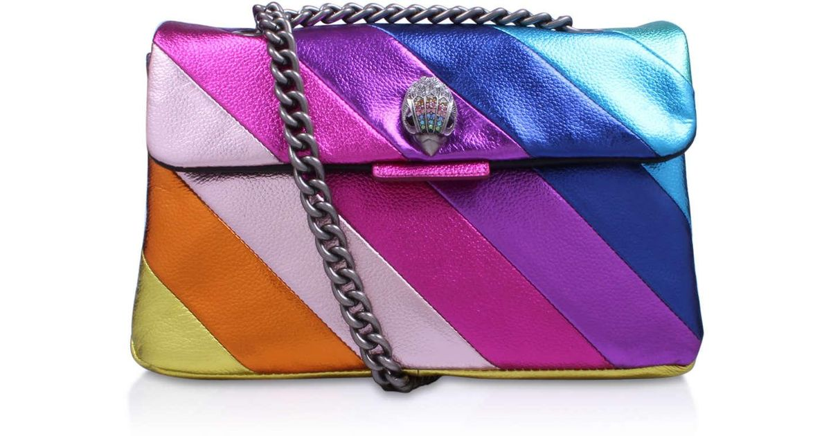 Kurt Geiger Leather Kensington Bag In Multi other in Purple - Lyst be5110737a5eb