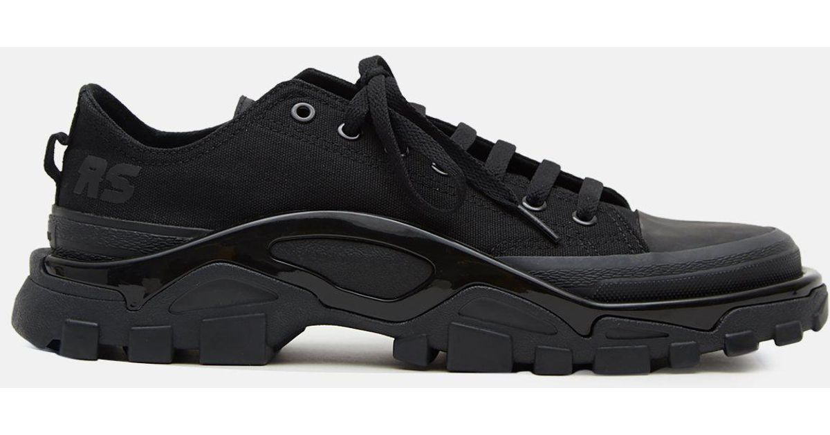 wholesale dealer e874b 5089c Lyst - adidas By Raf Simons Rs Detroit Runner Sneakers in Bl