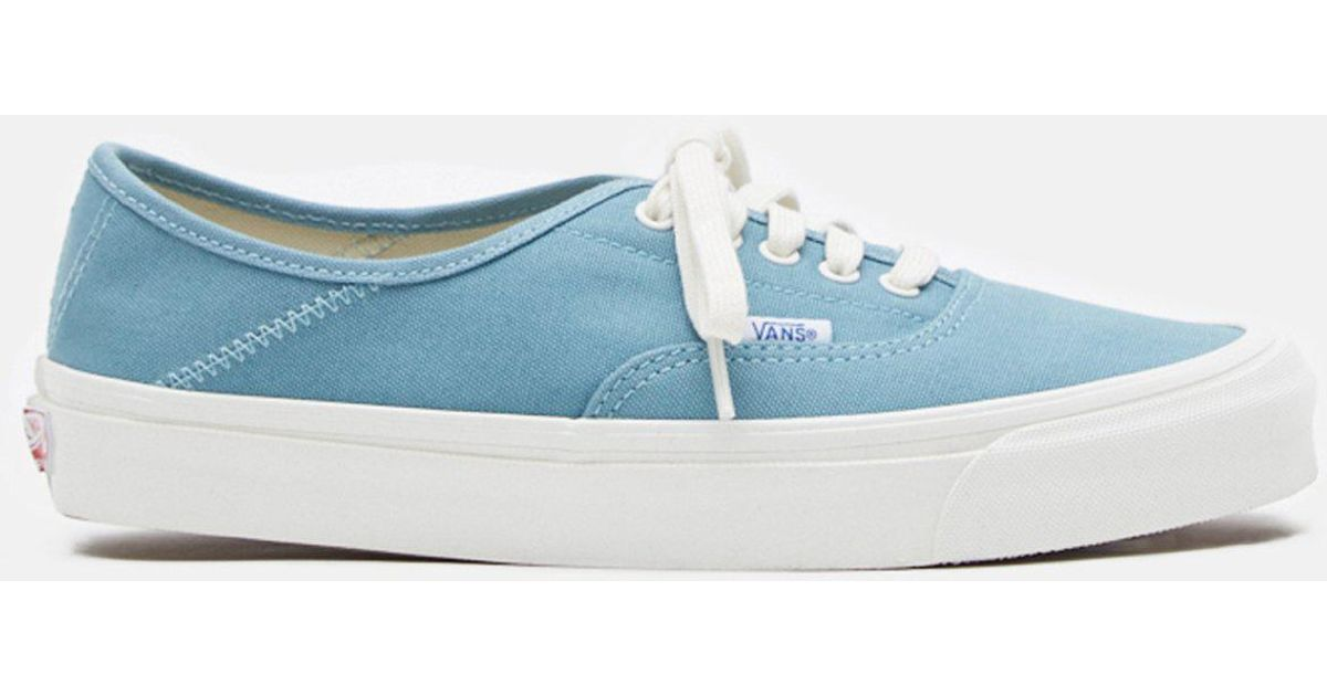 0c620aeed64fb9 Lyst - Vans Og Canvas Smoke Blue 43 Lx in Blue