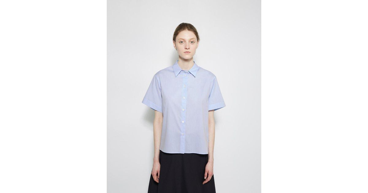 a62cdc73c38 Lyst - Margaret Howell Pj Shirt in Blue