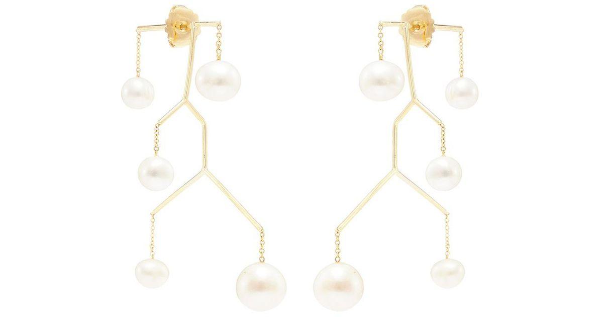Anissa Kermiche single drop earring - Metallic iVIyP9kN