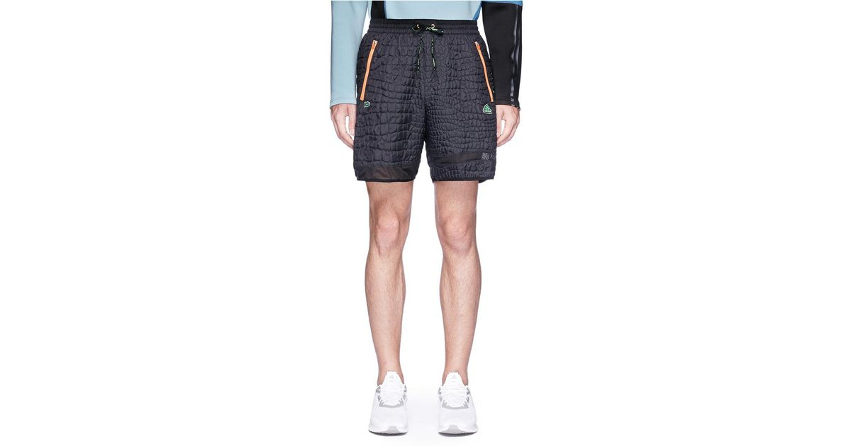 3014bed3f Lyst - adidas Originals  emboss  Track Shorts in Black for Men