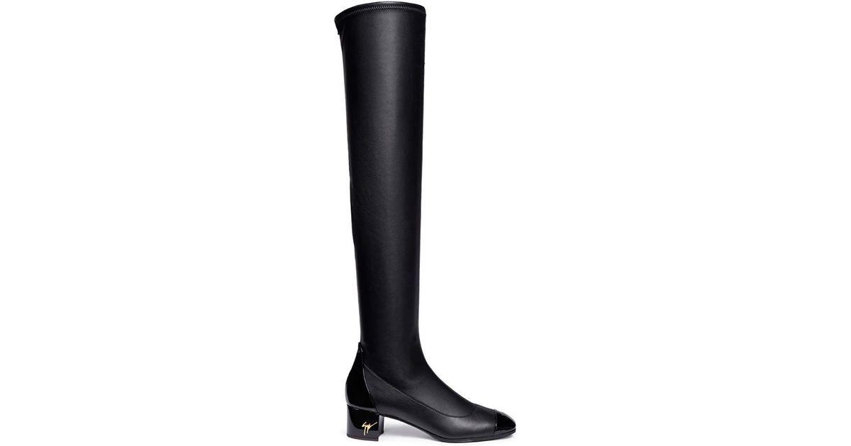 Giuseppe Zanotti Quad Over-the-Knee Boots ujir7VCr